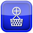 Add to basket icon — Stock Photo #38101263