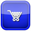Shopping cart icon — Stock Photo #38101365