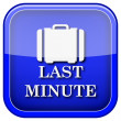 Last minute icon — Stock fotografie #38103413