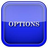 Icono de opciones — Foto de Stock
