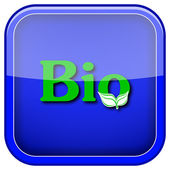 Bio icon — Stock Photo