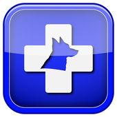 Veterinary icon — Foto de Stock
