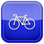 Bicycle icon — Stock Photo
