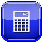 Ikona kalkulator — Zdjęcie stockowe