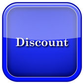 Discount icon — Foto Stock