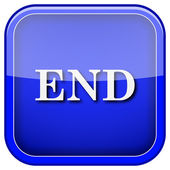 End icon — Stockfoto