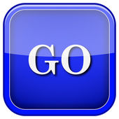 GO icon — Foto Stock