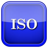 ISO icon — Stockfoto