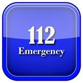 Icono de emergencia 112 — Foto de Stock