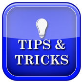 Tips and tricks icon — Stock Photo