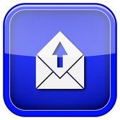 Gönder e-posta simgesi — Stok fotoğraf
