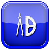 E-lärande-ikonen — Stockfoto