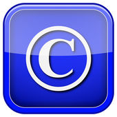Copyright icon — Stock Photo