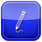 Pen icon — Stock Photo