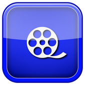 Icono de video — Foto de Stock