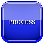 Process icon — Stockfoto