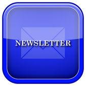 Newsletter icon — Stock Photo