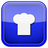 Chef icon — Stockfoto
