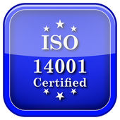ISO14001 icon — Stock Photo