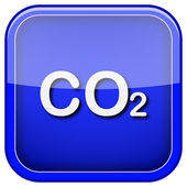 CO2 icon — Stockfoto