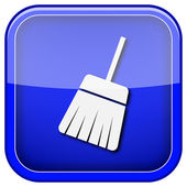 Sweep icon — Foto Stock