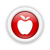 Apple icon — Stock Photo