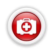 Medical bag icon — 图库照片