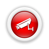 Surveillance camera icon — Foto Stock