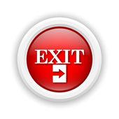 Exit icon — Stockfoto