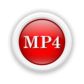 Icono de mp4 — Foto de Stock