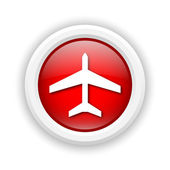 Plane icon — Stock Photo