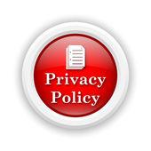 Icône de la politique de confidentialité — Photo