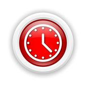 時計のアイコン — ストック写真