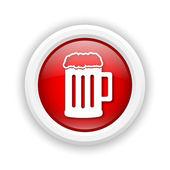 Icône de la bière — Photo