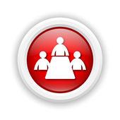 Kamer pictogram vergadering — Stockfoto