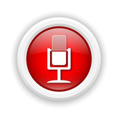 Microphone icon — Stock Photo