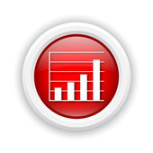 Иконка Диаграмма баров — Стоковое фото