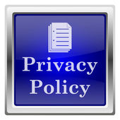 Privacy policy icon — Stock Photo