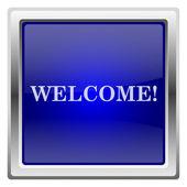 Välkommen-ikonen — Stockfoto
