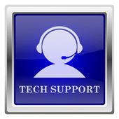 Icono de soporte técnico — Foto de Stock