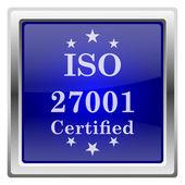 Icône de l'iso 27001 — Photo
