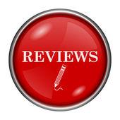 点评图标recenze ikona — 图库照片