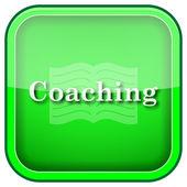Coaching pictogram — Stockfoto