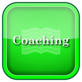 ícone de coaching — Foto Stock