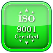 Icono de iso9001 — Foto de Stock