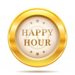 Happy hour icon — Stock Photo #38350641