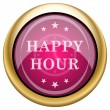 Happy hour icon — Stock Photo #38351847