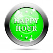 Happy hour icon — Stock Photo #38352667