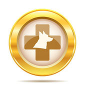 Veterinary icon — Stock Photo