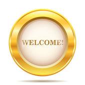 Welkom pictogram — Stockfoto